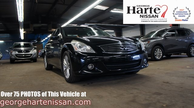 Pre-Owned 2012 INFINITI G25 X
