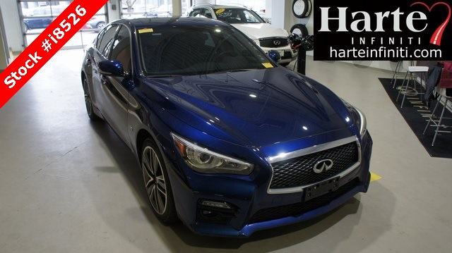 Certified Pre-Owned 2017 INFINITI Q50 Sport