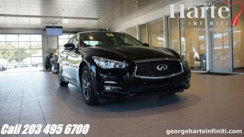 Pre-Owned 2015 INFINITI Q50 Deluxe Touring